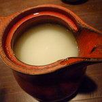 手打ち蕎麦 みたに - 蕎麦湯