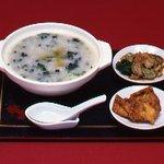 らーめんハウス チャニー - 芝海老がゆ!女性に人気の中華粥。