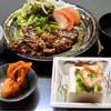 富鶴 - 料理写真:焼肉定食850円