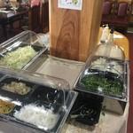 しんめい - サラダバーコーナー