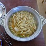 藤ヶ丘食堂 - とり鍋うどん