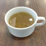 ロイヤルホスト - ランチのスープ