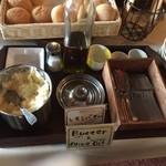ビーフキッチン 菜好牛 - 自家製レモンバターとオリーブオイル
