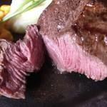 ビーフキッチン 菜好牛 - 赤身のカット