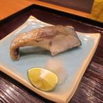 かま田 - 焼き物シマアジ(家内)