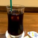 Sion - アイスコーヒーは普通、でもこれも付いて970円は素晴らしいです♪(2017.9.10)