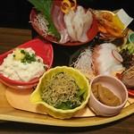 日本酒スローフード にいがた方舟 - 10食限定の方舟名物「方舟八彩」