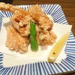 日本酒スローフード にいがた方舟 - 鶏の唐揚げ