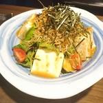 日本酒スローフード 方舟 - 何かのサラダ笑