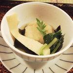 わ田作 - あいなめ、たけのこ、わかめの煮物