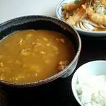 ちく膳 - カレーセット