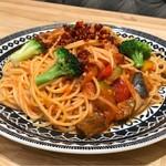 パステル - ソーセージと菜園野菜のアラビアータソース 税込1,069円