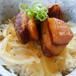 白樺山荘 - 角煮丼