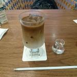丸福珈琲店 - アイスカフェオレ