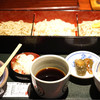 飯豊権現蕎麦 桐屋 - 料理写真:こだわりそば三種盛 1750円