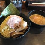 びし屋 - つけ麺、特(味玉、肉増)1080円、麺300g