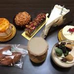 ヴァン・サンク - 料理写真:今回買ったケーキ達