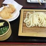 さぬき麺業 - とり天ざるうどん