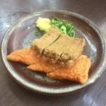 さぬき麺業 - じゃこ・えび天盛り
