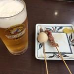 さぬき麺業 - 生ビール大とおでん