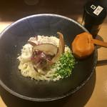 茶ぶ釜 - 料理写真:秋の限定 きのこフロマージュうどん