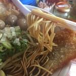 三木ジェット - 麺上げ