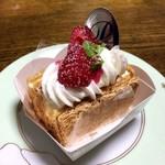 プティ・プティ - 料理写真:ミルフィーユ 300円