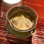 東麻布 天本 - イカの軟骨塩辛