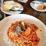 マカロニカフェ&ベーカリー - macaroniグレートナポリタン 1,190円