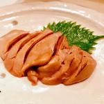 鶏割烹 ならや - 『白肝炙り』様(1680円)