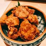 鶏割烹 ならや - 『砂ずりの唐揚げ』様(580円)