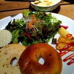 レストアの森 - ベーグル&スープセット