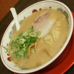 天下一品 - こってり・並(676円+税)+スープ多め(111円+税)2017年8月