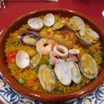 スペイン料理サブロッソ - 料理写真:パエリア ¥980