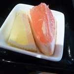 スープカレーと季節野菜ダイニング 彩 - セットのグレープフルーツ