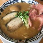 ラーメン而今 - ☆★特製たまり醤油の極み煮干しそば(´∀`*)平打★☆