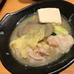 京もつ鍋 亀八 - もつ鍋