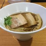 ラーメン HARU - 醤油煮干しらーめん 700円