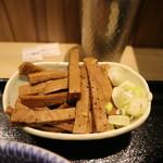 京都 麺屋たけ井 - メンマです☆ 2017-0906訪問