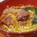 台湾屋台 阿Q麺館 - 料理写真:牛肉麺