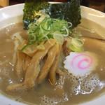麺房 十兵衛 - 特濃醤油アップ