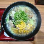 優勝軒  - 料理写真:2017年9月 塩タンメン 850円