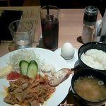 72878159 - 「豚キムチ炒め 」700円