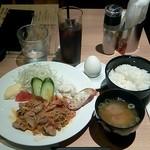 72878160 - 「豚キムチ炒め 」700円