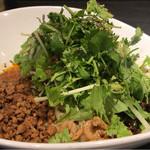 タンタンタイガー - レディース 汁なし担々麺 パクチー追加