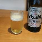 つくし - 瓶ビール  中  520円