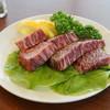春香苑 - 料理写真:一口ステーキ
