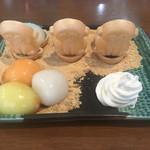 しらたま - シグナル白玉(ドリンク付き)1000円