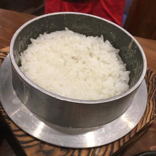 銀シャリ.カフェ - お米がキラキラ光ってる!