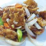 萬華城飯荘 - 酢豚